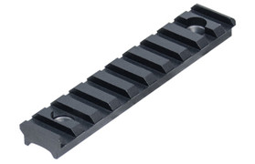 UTG PRO 10 Slot Super Slim Free Float Handguard Rail - Black
