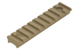 UTG PRO 10 Slot Super Slim Free Float Handguard Rail - FDE