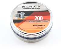 Norica Pointed Pellets - .22 - 200 ct