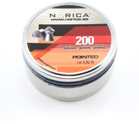 Norica Pointed Pellets - .25 - 200 ct
