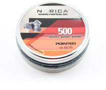Norica Pointed Pellets - .177 - 500 ct