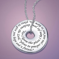 Jeremiah 29:11 Sterling Silver Necklace