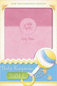 Baby Keepsake Bible - Pink, NIV