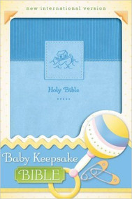 Baby Keepsake Bible - Blue, NIV