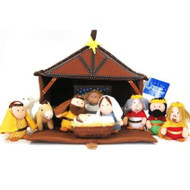 Talicor Plush Nativity 12 Piece Play Set