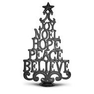 Haitian Christmas Word Tree