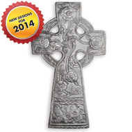 Floral Celtic Cross - Medium