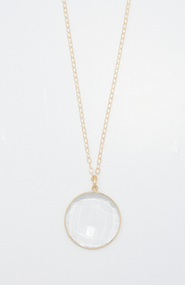 Majestic Regal Clear Quartz Necklace