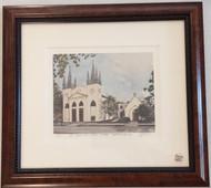 St. John's Framed Print - Wooden Frame