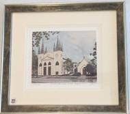 St. John's Framed Print - Silver Frame