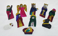 Tin Box With 10pc Nativity