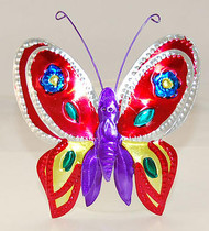 Tin Multi-Colored Butterflies