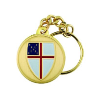 Episcopal Medal Pendant Key Chain