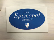 The Episcopal Church Oval Static Decal
