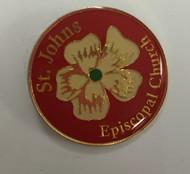 St. John's Episcopal Church Lapel Pin
