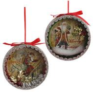 "The ""Joyeux Noel"" Ornament design."