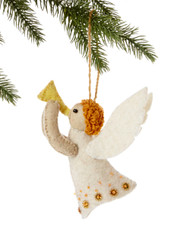 Angel Handmade Wool Ornament
