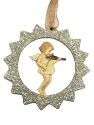 Cherub Angel Musicians Holiday Ornaments Assorted