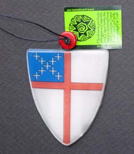 Fused Glass Episcopal Shields
