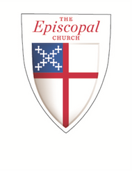 Episcopal Shield Decal (Pack of 25)