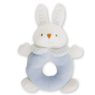 Plush Blue Rabbit Rattle