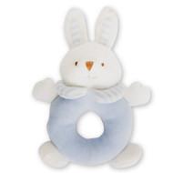 Plush Blue Rabbit Rattle