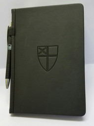 Journal With Stamped Episcopal Shield