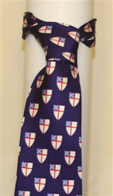 Episcopal Shield Necktie