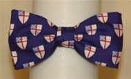 Episcopal Shield Bow Tie