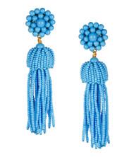 Tassel Earrings - Torquoise