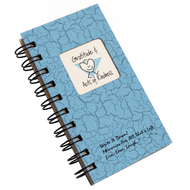 Gratitudes and Acts of Kindness Mini Journal - Light Blue Color