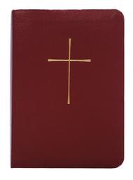 Book of Common Prayer (BCP): Economy Edition, Burgundy