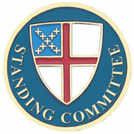 Standing Committee Lapel Pin - Episcopal Shield