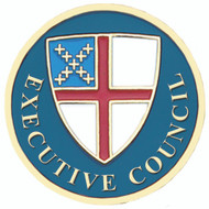 Executive Council Lapel Pin - Episcopal Shield