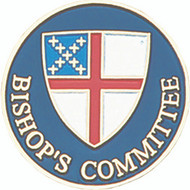 Bishop's Committee Lapel Pin - Episcopal Shield