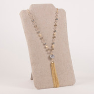 Ellie Tassel Necklace