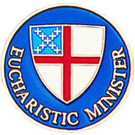 Eucharistic Minister Pin - Episcopal Shield