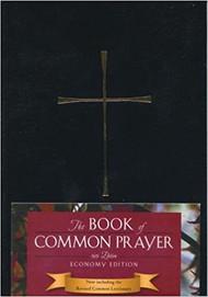 Book of Common Prayer, Economy Edition - Black