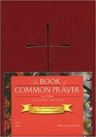 Book of Common Prayer, Economy Edition - Wine