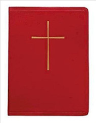 The Book of Common Prayer (BCP): Deluxe Chancel Edition, Red