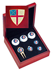 Episcopal Shield Golf Gift Set