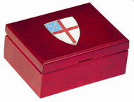 Episcopal Shield Small Keepsake Box