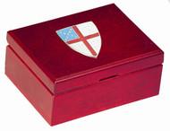 Episcopal Shield Small Keepsake Box