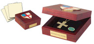 "Episcopal Keepsake Box 6""x6"""