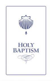 Holy Baptism Booklet with Envelope: Approved Service from the Book of Common Prayer
