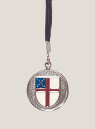 Episcopal Shield Pendant #103
