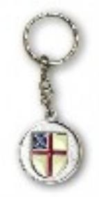 Episcopal Shield Key Ring #94