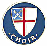 Choir Lapel Pin - Episcopal Shield