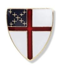 Episcopal Shield Lapel Pin