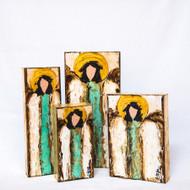 Ginger Leigh Designs: Verdi Gris Angel -  Medium Rectangle